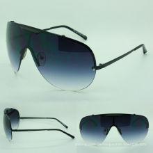 Brille trendige Metall-Sonnenbrille (03071 c9-427)
