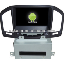 Android system in dash car dvd player for Opel Insignia/Buick Regal with GPS/Bluetooth/TV/3G/WIFI