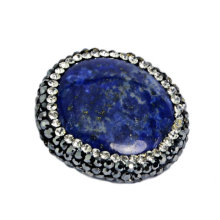 Blue Crystal Stone Bead Bijour Accessory Jewelry DIY Esty