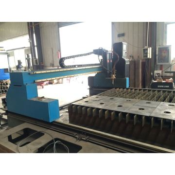 CNC Plasma Flame Cutting Machine untuk Sheet Plates