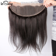 Paquetes de pelo indio sin procesar de la Virgen con precio barato al por mayor frontal