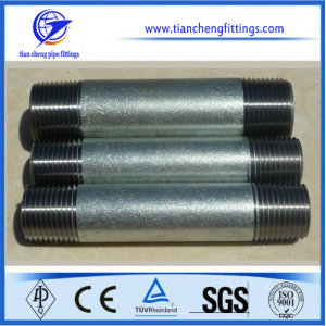 Black Carbon Steel Pipe Nipple / Barrel Nipple