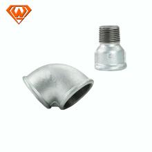 encaixe de tubulação de ferro maleável galvanizado