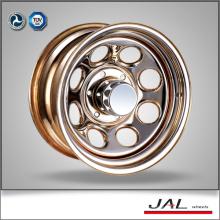 Модульные блестящие хромированные колеса 4х4 колесные диски