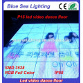 Wedding used light up wholesale price led video dance floor