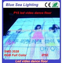 Luz portátil do casamento acima da luz conduzida barata do assoalho de dança
