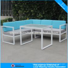 Ensemble de sofa sectionnel de rotin de meubles de jardin de mode