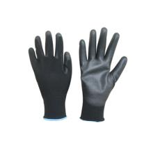 Gant de polyester 13G Polyester Liner Revêtement en polyuréthane-5051