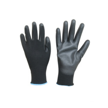 13G Polyester Liner PU Coated Touch-Screen Glove-5051