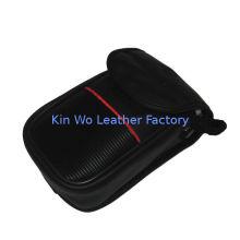 Waterproof Digital Camera Pouches , Oem Leather Black Camera Bags