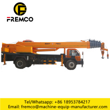 12 Ton Wheel Tire Truck Crane