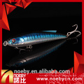 NOEBY ABS plastic hard pencil lure stick bait fishing with VMC hooks