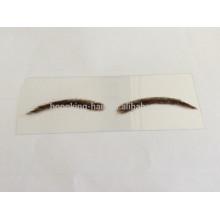 sobrancelha falsa popular do cabelo humano para a venda