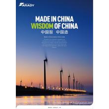 Sistema de energia solar direto do vento da fábrica