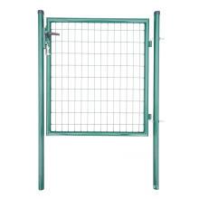 Porte de clôture métallique ronde