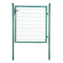 Metal Fence Gate Round
