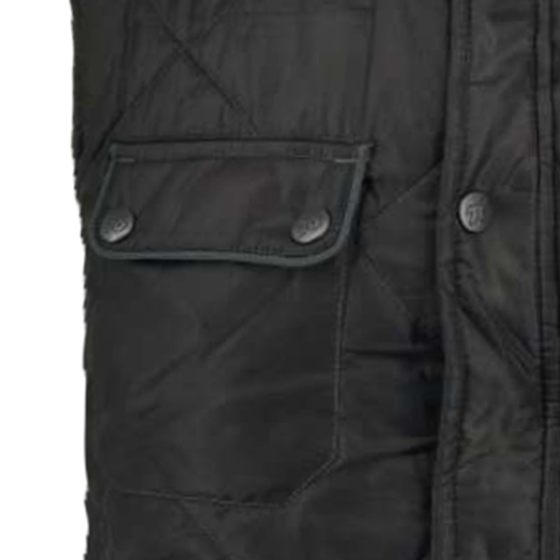 Winter Cotton Short Vest for Man