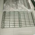 gebogene Fechten 3D-Panels beschichtete Grenze grünen Garten Drahtgitter Zaun mit V Falten