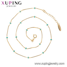 44826 Xuping moda colares mulheres jóias, colares de contas para as mulheres de jóias