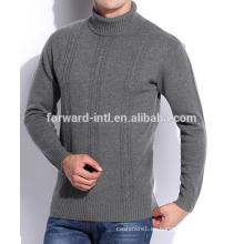 suéter de cachemira de moda de los hombres
