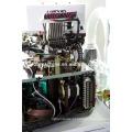 Máquina de confecção de malhas seletiva automatizada lisa da peúga da máquina da peúga de terry 3,75