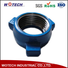 OEM Oil Pipe Fitting Forged Steel Thread Tee