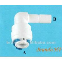 Stem / Plug Ellenbogenadapter / Fast Fitting für Wasser treament