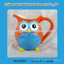 Креативный дизайн керамическая кружка в форме совы для оптовой продажи