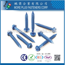 Hecho en Taiwán Alta calidad OEM Acero inoxidable de acero inoxidable Tapcon Ventana Ind Hex Flange Hi-Lo Hilo Concreto Window Screw