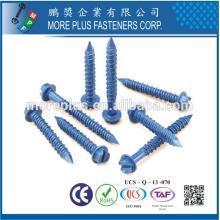 Fabriqué en Taiwan Haute qualité OEM Custom Stainless Steel Tapcon Fenêtre Ind Hex Flange Hi-Lo Thread Vis en béton de fenêtre