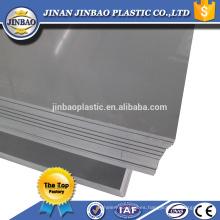 """48 """"x 96"""" gris blanco pvc fabricantes de hojas de plástico rígido"""