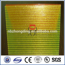 clear plastic polycarbonate glazing sheet/polycarbonate roofing sheet