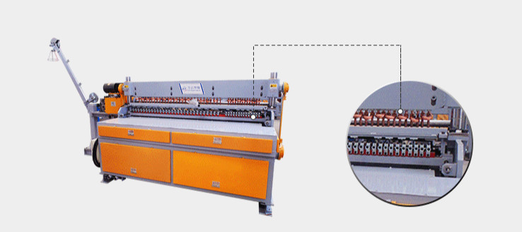Roll Type Welded Wire Mesh Machine