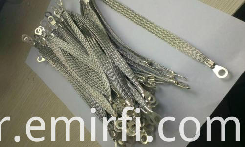 tinned copper knitted wire braids