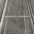 Tela tecida de aço alta do triturador da pedra da malha da tela da vibração da tela do aço 45 #