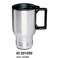 Sdc400b2 Stainless Steel Vacuum Double Wall Auto Car Mugs New