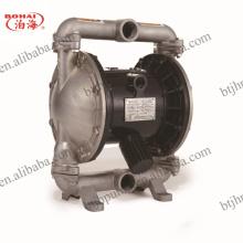Pompe à membrane pneumatique en acier inoxydable pour produits chimiques / industrie