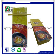 Quad-Sealed Recycling-Kaffee-Beutel mit Zinn-Bindung