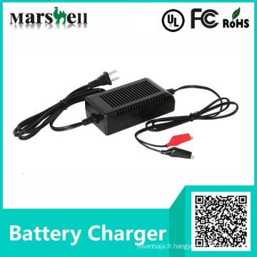 Chargeur de batterie de moto électrique de différentes tensions avec UL