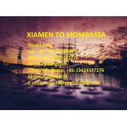 Fujian Xiamen Fracht morski do Kenii Mombassa