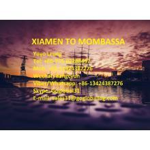 Fujian Xiamen Sea Freight para o Quénia Mombassa