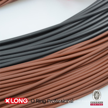 Customized Black FKM Rubber Strip for Sealing