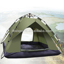 Family Camping Tent Canvas tents 3-4 People Camping Equipment