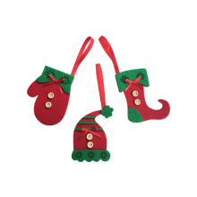 Christmas tree ornaments with magic elf theme