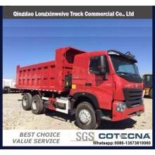 2016 Vente Chaude 6 * 4 Camion à Benne Basculante de HOWO A7