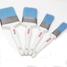 PSB-008 Mixed Bristle Plastic White Handle Paint Brush SRT brush set