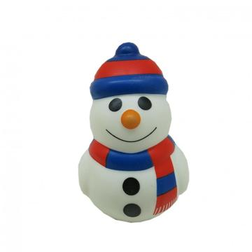 SQUISHY SNOWMAN TOY -0