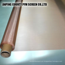 Conductividad eléctrica inferior 200 Tornillo de protección de malla Limpieza de malla de alambre de cobre