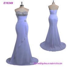 Vestido de noche de las mujeres de la tela de lino de la nueva llegada vestido del abrigo de MIDI