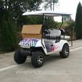 Pesado fora do carro elétrico do carrinho de golfe da estrada 4 com CE